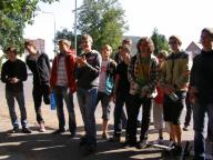 Fotky z cyklistického závodu 16. 9. 2011
